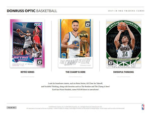 2017-18 Panini Donruss Optic Basketball Hobby Pack - Sports Cards Direct