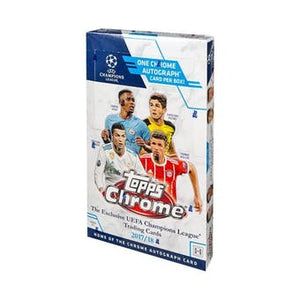 2017-18 Topps UEFA Champions League Chrome Soccer - Sports Cards Direct