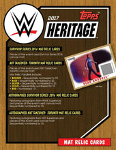 2017 Topps WWE Heritage Wrestling - Sports Cards Direct