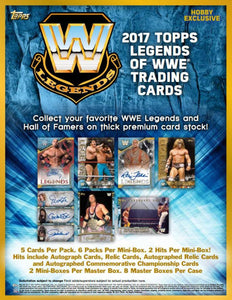 2017 Topps WWE Legends Wrestling Hobby Pack - Sports Cards Direct