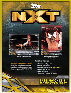 2017 Topps WWE NXT Wrestling - Sports Cards Direct
