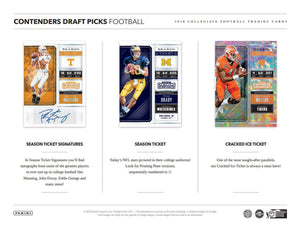 2018 Panini Contenders Draft Picks Football Hobby Pack - Sports Cards Direct