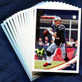 2018 Donruss New England Patriots Team Set