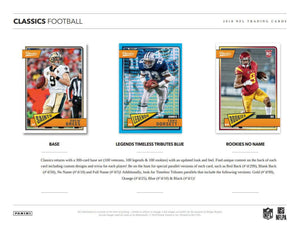2018 Panini Classics Football - Sports Cards Direct
