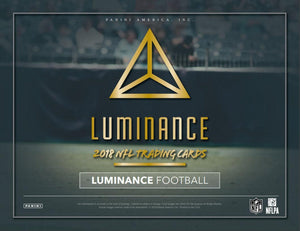 2018 Panini Luminance Football Hobby Pack - Sports Cards Direct