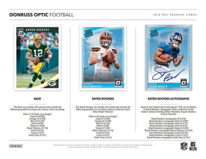 2018 Panini Donruss Optic Football