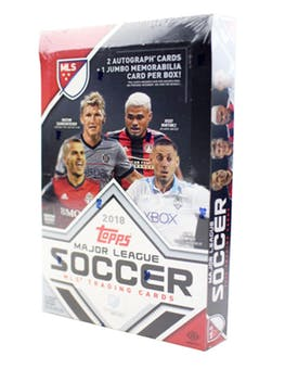 2018 Topps MLS Soccer - Sports Cards Direct