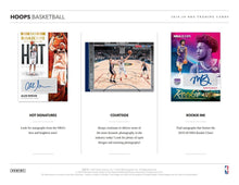 2019-20 Panini NBA Hoops Basketball Hobby Pack