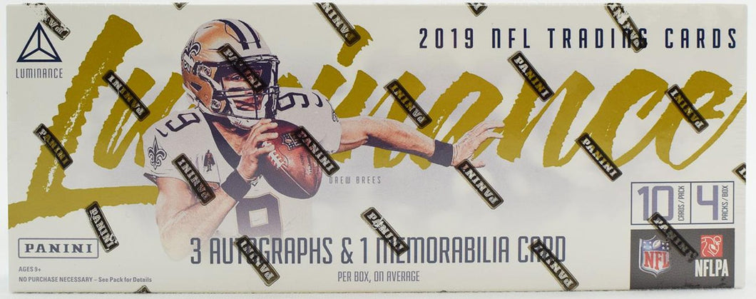 2019 Panini Luminance Football Hobby Pack