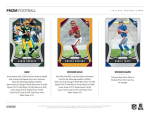 2019 Panini Prizm Football Hobby Pack