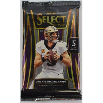 2019 Panini Select Football Hobby Pack