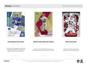 2020 Panini Mosaic No Huddle Football Hobby Pack