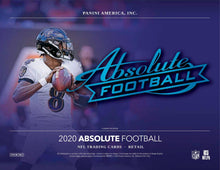 2020 Panini Absolute Football Blaster Pack