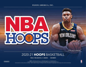2020-21 Panini NBA Hoops Basketball Hobby Pack