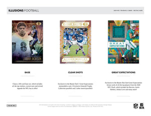 2020 Panini Illusions Football Blaster Pack