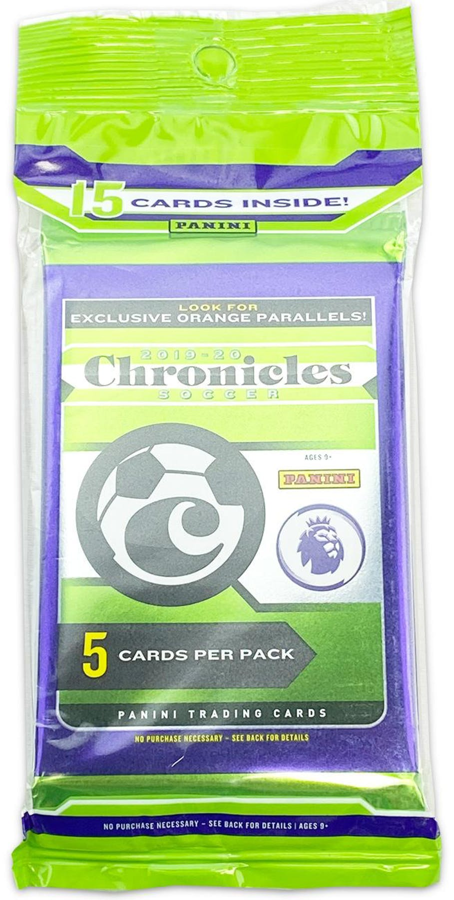 2019-20 Panini Chronicles Soccer Cello Pack
