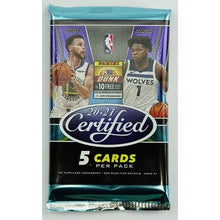 2020-21 Panini Certified Basketball Hobby Pack