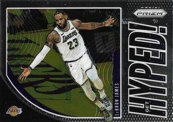 2019-20 Panini Prizm - Get Hyped! #2 LeBron James
