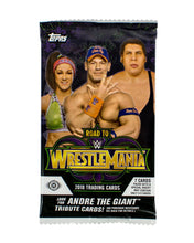 2018 Topps WWE Road to Wrestlemania Hobby Pack - Sports Cards Direct