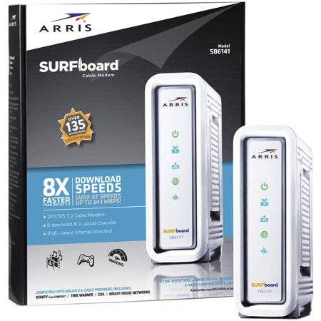 ARRIS SURFboard SB6141 Cable Modem