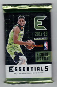 2017-18 Panini Essentials Basketball Hobby Pack