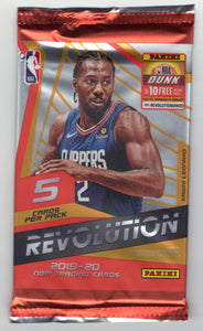 2019-20 Panini Revolution Basketball Hobby Pack
