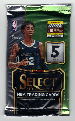 2019-20 Panini Select Basketball Hobby Pack