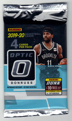 2019-20 Panini Donruss Optic Tmall Basketball Hobby Pack