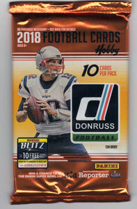 2018 Panini Donruss Football Hobby Pack