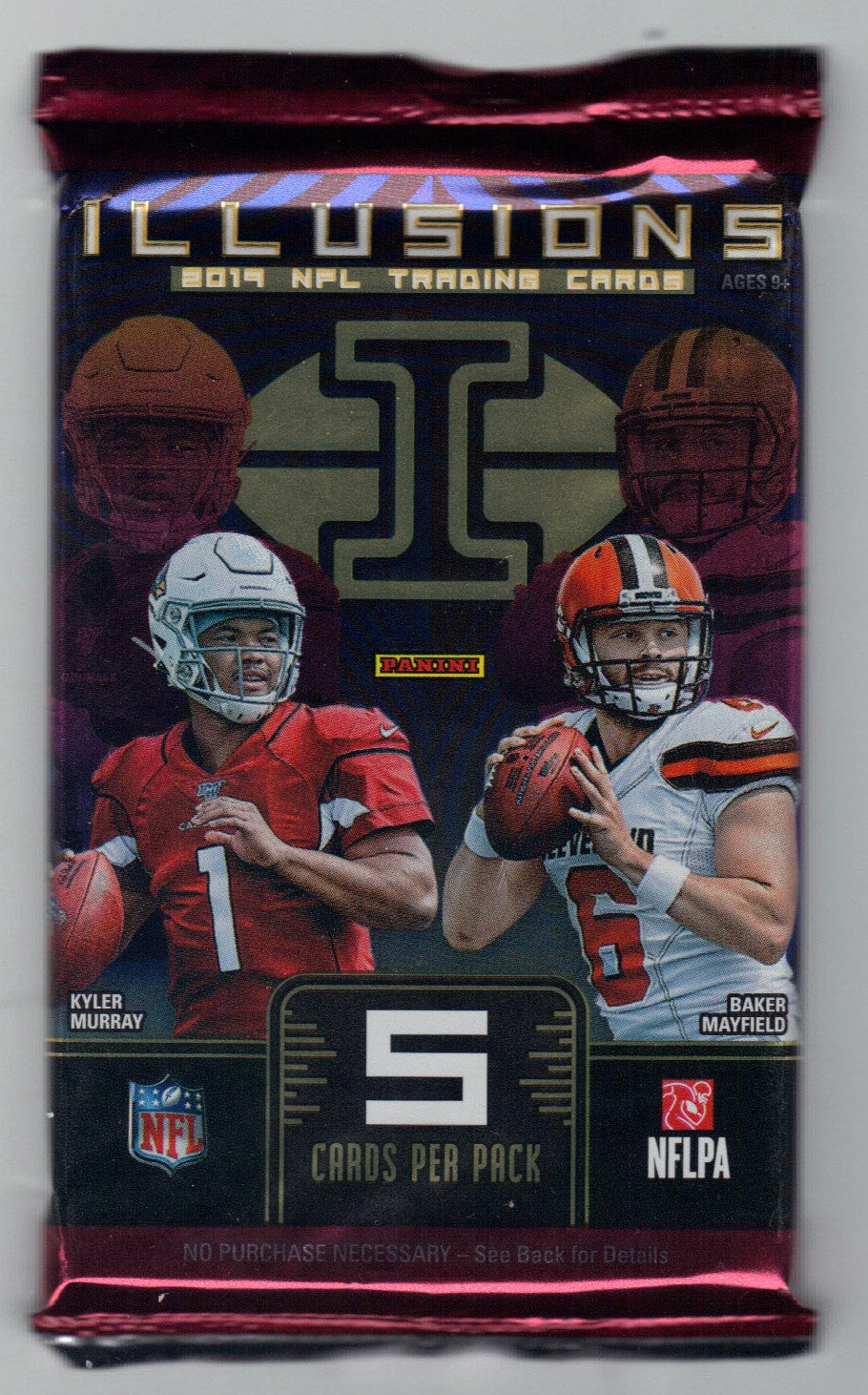 2019 Panini Illusions Football Hobby Pack