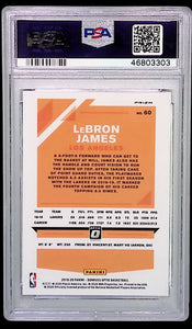 2019 Panini Donruss Optic #60 Fanatics LeBron James PSA 10