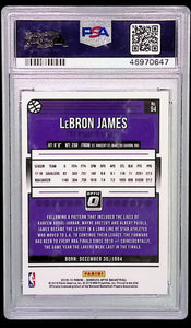 2018 Panini Donruss Optic #94  LeBron James PSA 10