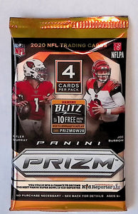 2020 Panini Prizm Football Blaster Pack