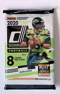 2020 Panini Donruss Football Blaster Pack
