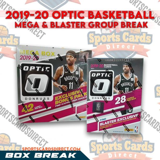 2019-20 Optic Basketball Mega & Blaster Group Break