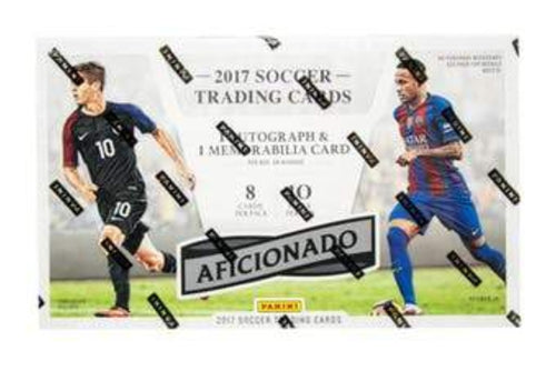 2017 Panini Aficionado Soccer - Sports Cards Direct
