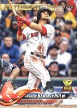 2018 Topps Boston Red Sox Baseball Cards Team Set - Sports Cards Direct