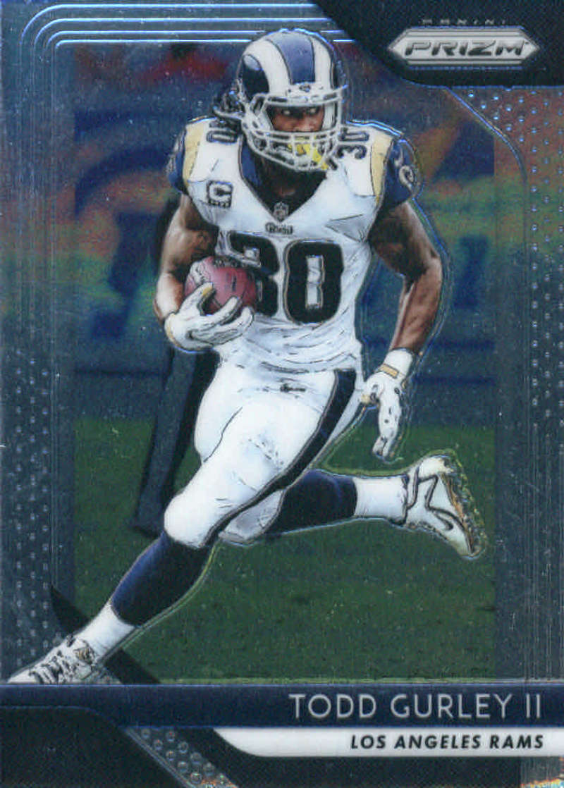 2018 Prizm Los Angeles Rams Team Set