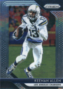 2018 Prizm Los Angeles Chargers Team Set