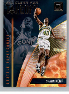2018-19 Donruss Basketball All Clear for Takeoff