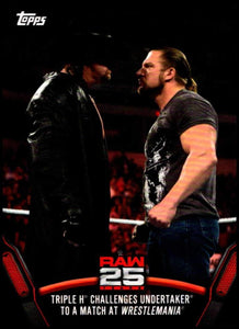 2018 WWE Then Now Forever 25 Years of RAW