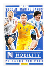 2017-18 Panini Nobility Soccer Hobby Pack - Sports Cards Direct