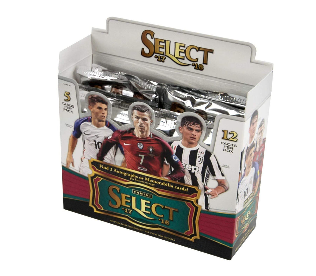 2017-18 Panini Select Soccer Hobby Pack - Sports Cards Direct