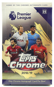 2018-19 Topps Chrome Premier League Soccer