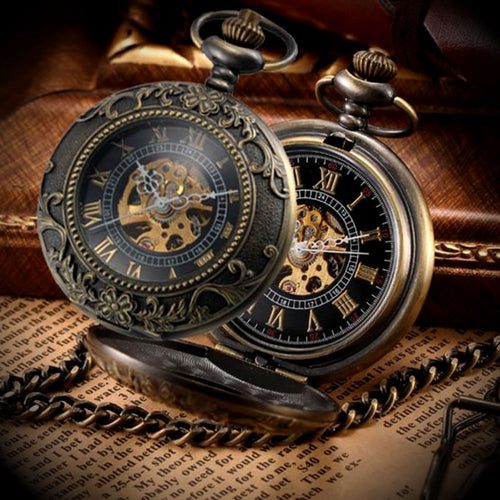 Classic Mechanical Pocket Watch