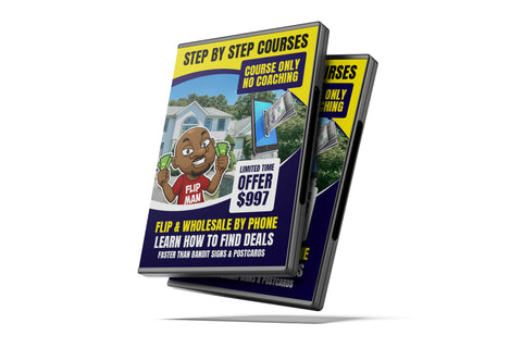 Flip By Phone Video Training Learn How to Find Deals Faster than Bandit signs and Postcards