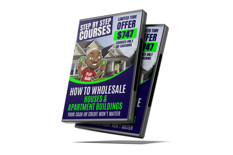 Wholesaling Houses and Apartments Course - Video Course Only