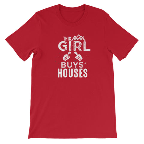 This Girl Buys Houses (Short-Sleeve Unisex T-Shirt)