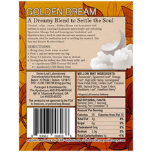 GOLDEN DREAM CBD HEMP TEA