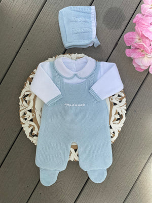 Romper Knitted Set